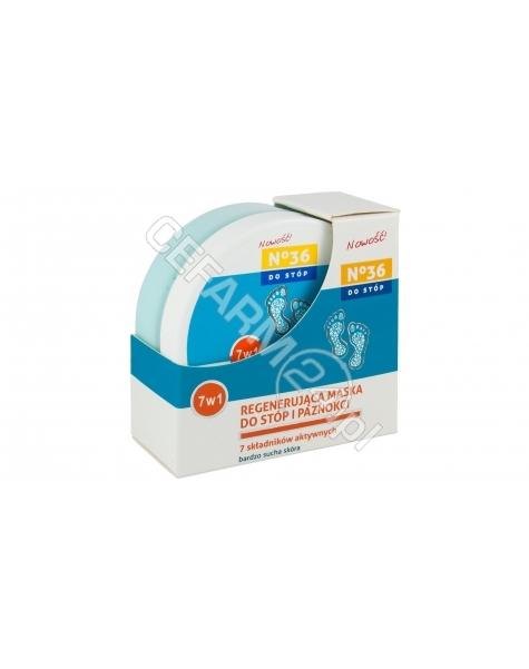 PharmaCFood No 36 regenerująca maska do stóp i paznokci 75 ml