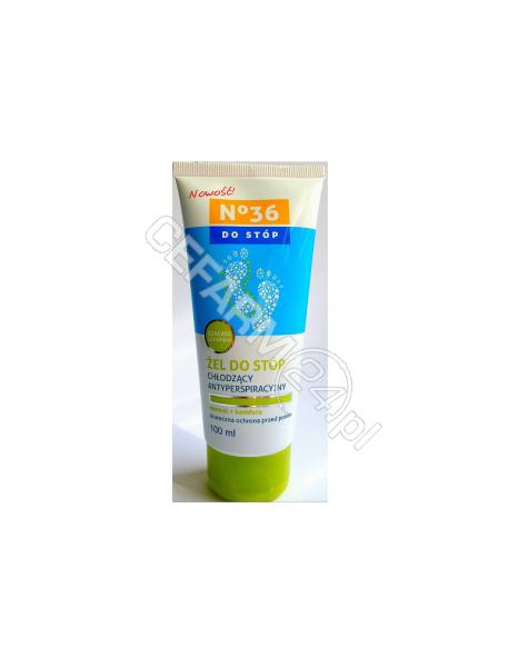 PharmaCFood No 36 żel do stóp chłodzący antyperspiracyjny 100 ml