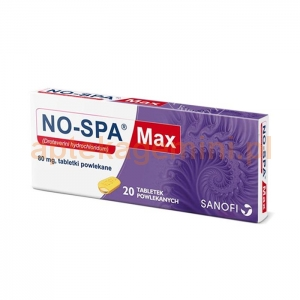 SANOFI No-Spa MAX, 20 tabletek