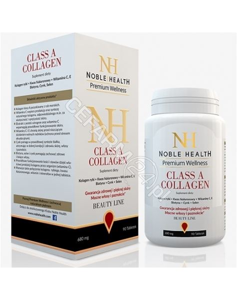 NOBLE HEALTH Noble health class a collagen x 90 tabl