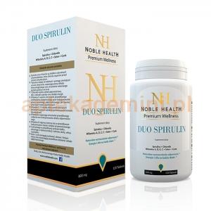 NOBLE HEALTH Noble Health Duo Spirulin, 120 tabletek