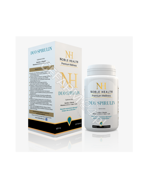 NOBLE HEALTH Noble health duo spirulin x 120 tabl