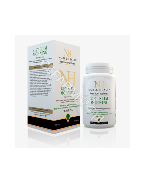 NOBLE HEALTH Noble health get slim morning x 60 tabl