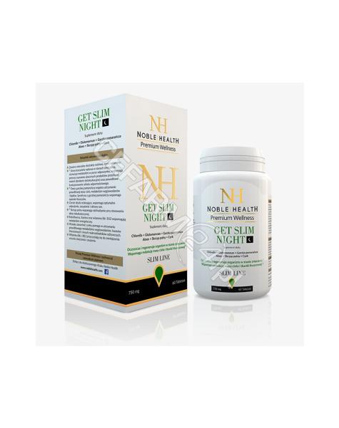 NOBLE HEALTH Noble health get slim night x 60 tabl