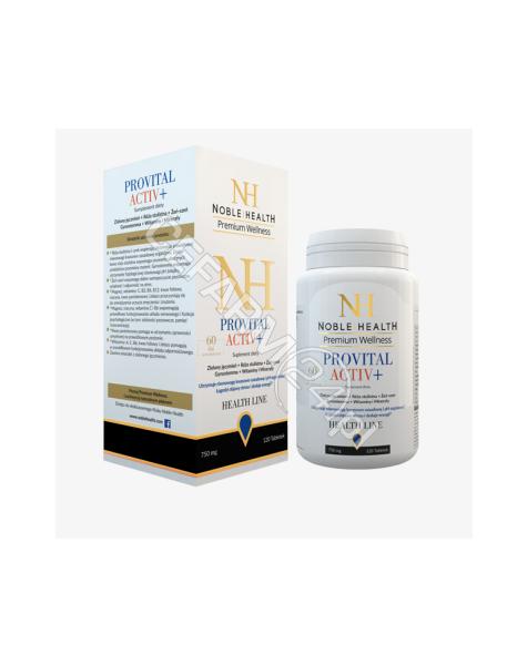 NOBLE HEALTH Noble health provital activ+ x 120 tabl
