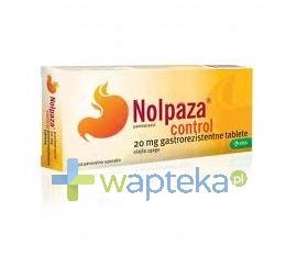 KRKA POLSKA SP. Z O.O. Nolpaza control 0,02g 14tabletek