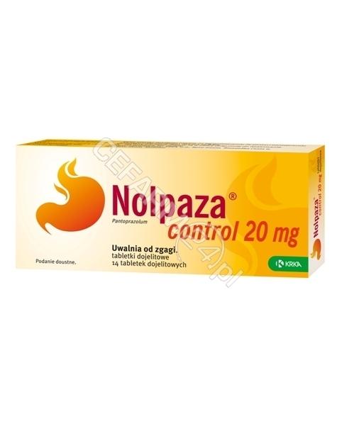 KRKA Nolpaza control 20 mg x 14 tabl dojelitowych