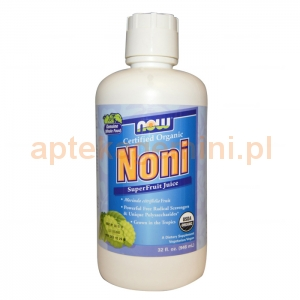 NOW FOODS Noni Organic, sok, 960ml