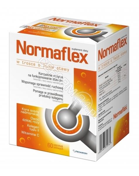 NOVASCON Normaflex x 60 saszetek żelowych (data ważności 30.06.2016)