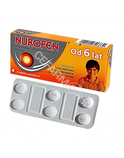 RECKITT BENC Nurofen 200 mg x 6 tabl powlekanych