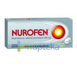 BOOTS HEALTHCARE SP.Z O.O. Nurofen 200mg 12 tabletek