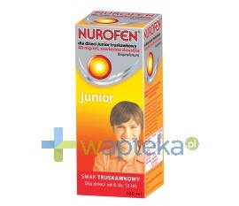RECKITT BENCKISER (POLAND) S.A. Nurofen dla dzieci JUNIOR truskawkowy 100 ml