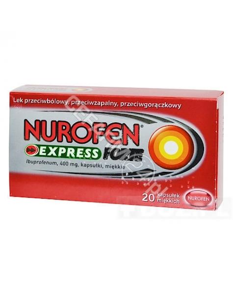 RECKITT BENC Nurofen express forte 400 mg x 20 kaps