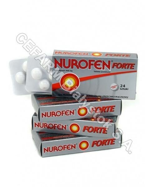 BOOTS Nurofen forte 400 mg x 24 tabl powl