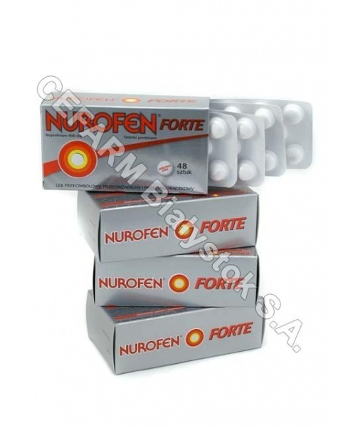 BOOTS Nurofen forte 400 mg x 48 tabl