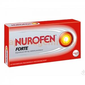 RECKITT BENCKISER Nurofen Forte 400mg, 24 tabletki