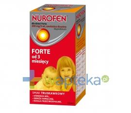 RECKITT BENCKISER (POLAND) S.A. Nurofen Forte dla dzieci zawiesina 50ml