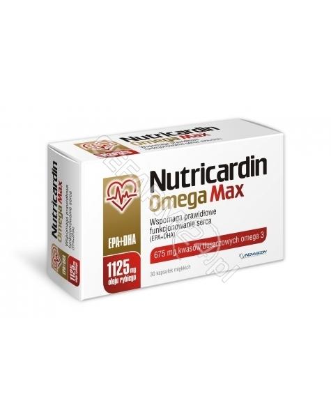 NOVASCON Nutricardin Omegamax x 30 kaps