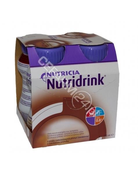 NUTRICIA Nutridrink czekoladowy 4 x 200 ml