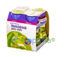 NUTRICIA POLSKA SP. Z O.O. Nutridrink Juice Style o smaku jabłkowym 4 x 200ml