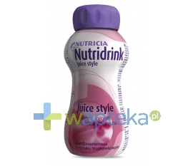 N.V.NUTRICIA Nutridrink Juice Style smak truskawkowy 200ml