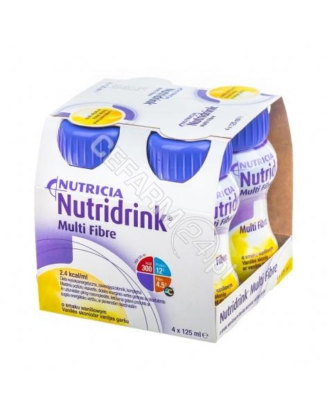 NUTRICIA Nutridrink multi fibre waniliowy 4 x 125 ml