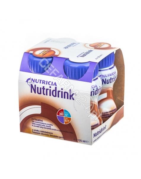 NUTRICIA Nutridrink o smaku czekoladowym 4 x 125 ml