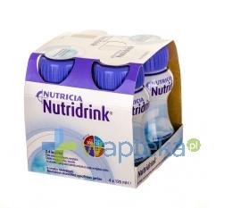NUTRICIA POLSKA SP. Z O.O. Nutridrink o smaku neutralnym 4 x 125ml