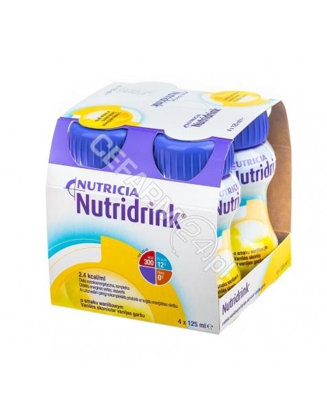 NUTRICIA Nutridrink o smaku waniliowym 4 x 125 ml