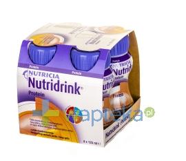 NUTRICIA POLSKA SP. Z O.O. Nutridrink Protein o smaku brzoskwinia-mango 4x 125 ml
