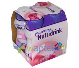 NUTRICIA POLSKA SP. Z O.O. Nutridrink Protein o smaku owoców leśnych 4x125 ml