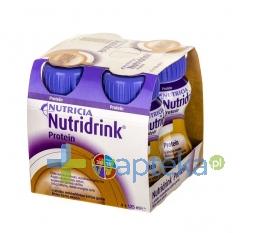 NUTRICIA POLSKA SP. Z O.O. Nutridrink Protein smak mokka 4 x 125ml - Krótka data ważności - do 06-12-2015