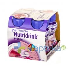NUTRICIA POLSKA SP. Z O.O. Nutridrink Protein smak truskawkowy 4 x 125ml