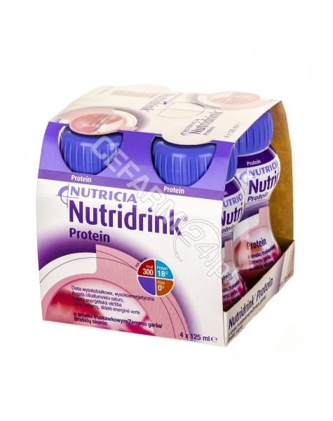 NUTRICIA Nutridrink protein truskawkowy 4 x 125 ml
