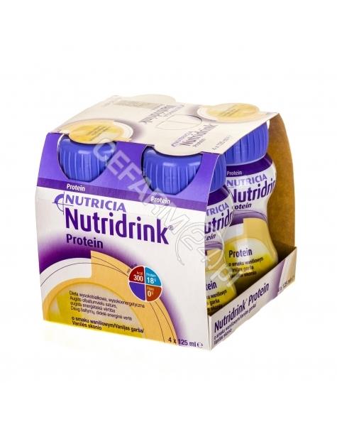 NUTRICIA Nutridrink protein waniliowy 4 x 125 ml