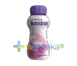 NUTRICIA POLSKA SP. Z O.O. Nutridrink truskawkowy 200ml - Krótka data ważności - do 14-10-2015