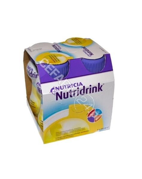 NUTRICIA Nutridrink waniliowy 4 x 200 ml