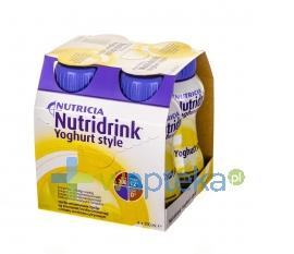 NUTRICIA POLSKA SP. Z O.O. Nutridrink Yoghurt Style o smaku waniliowo-cytrynowym 4 x 200ml