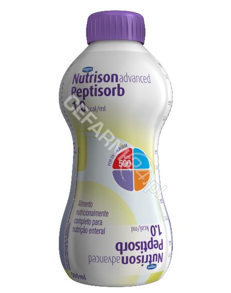 NUTRICIA Nutrison advanced peptisorb płyn 500 ml (butelka plastikowa)