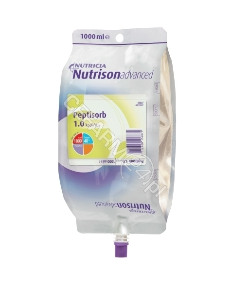 NUTRICIA Nutrison advanced peptisorb (worek) 1000 ml