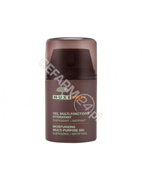 NUXE Nuxe men wielofunkcyjny nawilżający żel do twarzy 50 ml