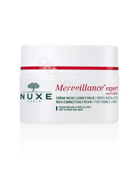 NUXE Nuxe merveillance expert enrichie - krem korygujący utrwalone zmarszczki 50 ml (do skóry suchej i bardzo suchej)