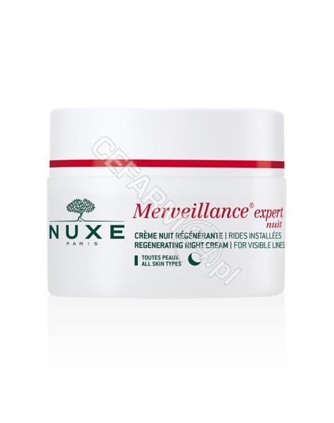 NUXE Nuxe merveillance expert - regenerujący krem na noc 50 ml