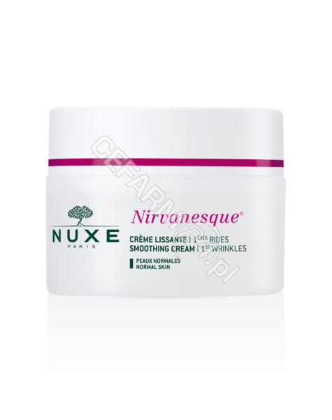NUXE Nuxe nirvanesque - krem wygładzający pierwsze zmarszczki mimiczne dla skóry normalnej 50 ml (nowa formuła) + minioprodukty GRATIS !!!