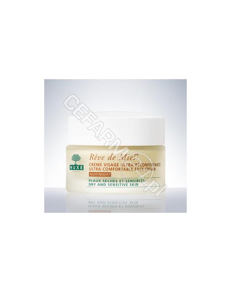NUXE Nuxe Reve De Miel Creme visage ultra-reconfortante - ultrakomfortowy krem do twarzy na noc 50 ml