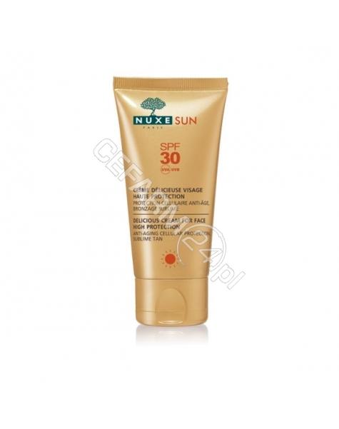 NUXE Nuxe sun mleczko do opalania twarzy i ciała spf-30 150 ml