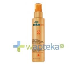 NUXE NUXE SUN Mleczko do opalania twarzy i ciała spray SPF20 150 ml