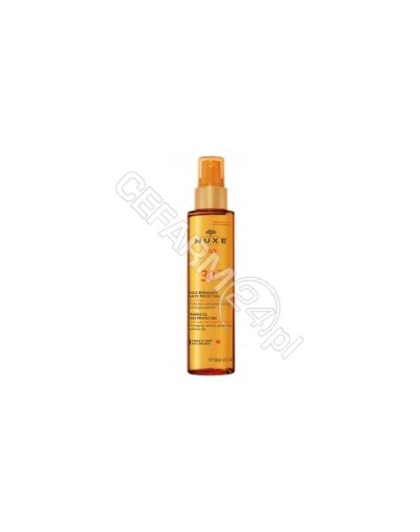 NUXE Nuxe Sun olejek do opalania spf-30 do twarzy i ciała 150 ml