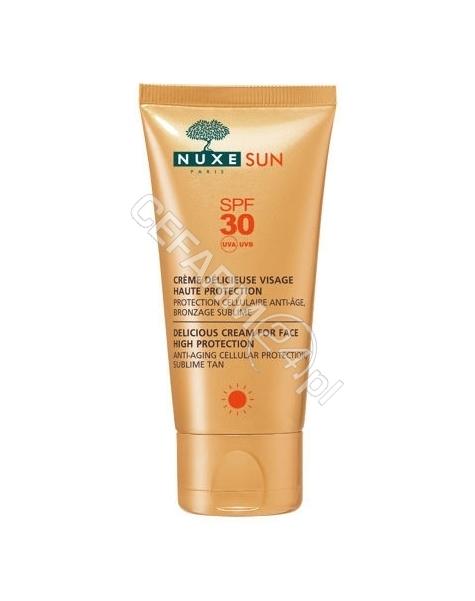 NUXE Nuxe Sun zachwycający krem do opalania twarzy i ciała spf-30 50 ml
