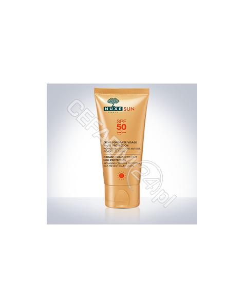 NUXE Nuxe Sun zachwycający krem do opalania twarzy spf-50 50 ml